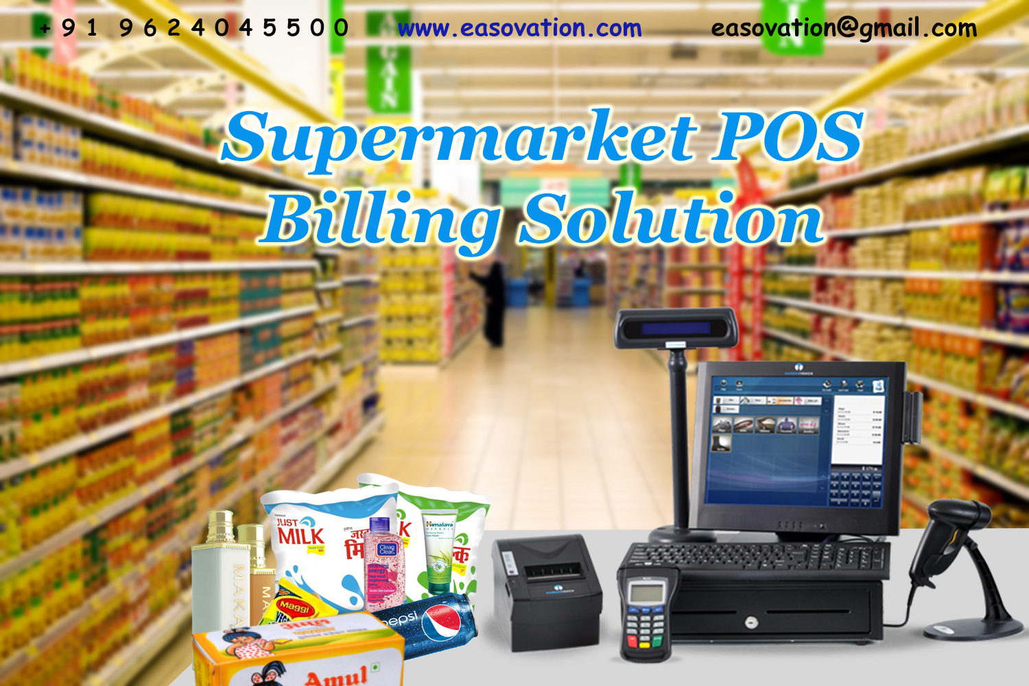 "supermarket information system Abstract the project ""supermarket"" deals with the automation of supermarket this software will help salespersons in managingthe various types of."