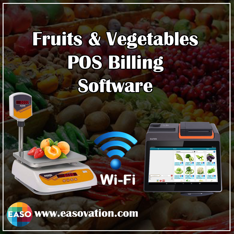 Fruits & Vegetables - POS Billing Software